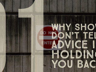 Series A: Why 'Show vs. Tell' Advice is Holding You Back