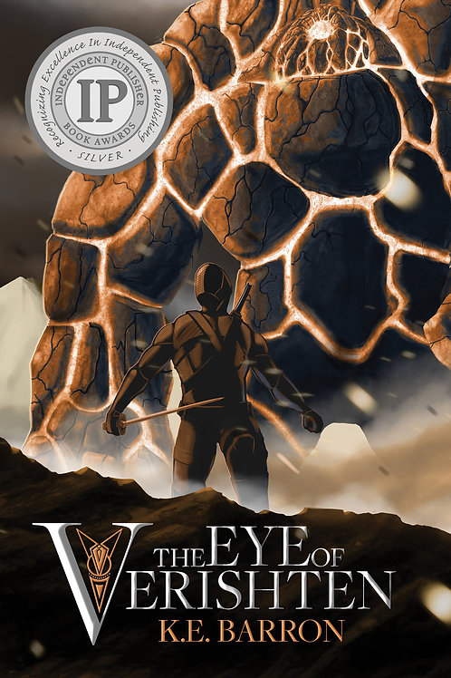 The Eye of Verishten (hardcover) - K.E. Barron