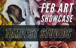 February Art Showcase: Tempest Studios/Erika Schulz