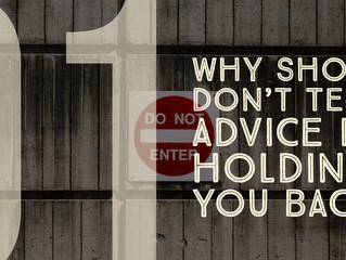 Why 'Show vs. Tell' Advice is Holding You Back