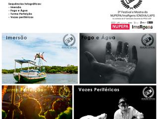 Sequências fotográficas do 3º Festival e Mostra de Audiovisual do NUPEPA/ImaRgens - ICNOVA/LAPS
