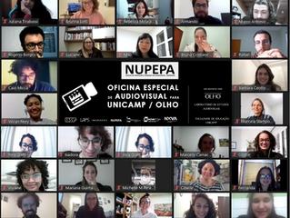 Conheça os filmes resultantes da Oficina Especial do NUPEPA para a Pós-graduação da UNICAMP/OLHO