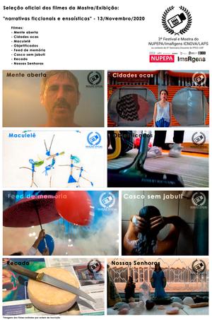 Ensaios e Ficções do 3º Festival e Mostra de Audiovisual do NUPEPA/ImaRgens - ICNOVA/LAPS