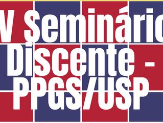 Mostra e premiação de filmes no IV Seminário Discente do PPGS/FFLCH-USP