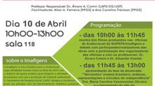 """Lançamento do site do ImaRgens e mostra/debate sobre """"Audiovisual e Ciências Sociais""""."""