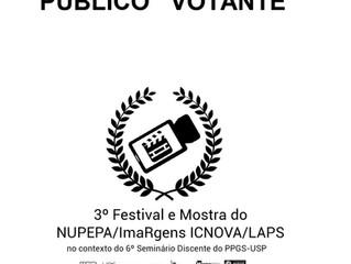 Pré-inscrição do Público Votante para o 3º Festival e Mostra do NUPEPA/ImaRgens ICNOVA/LAPS