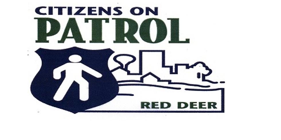 Red Deer City Citizen's On Patrol Association (SHIFT 1)