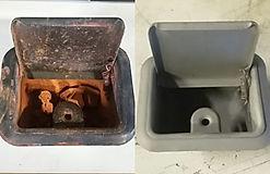 Hummer Restoration, paint, sandblast