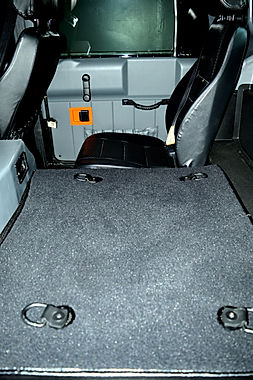 Hummer carpet, new seats