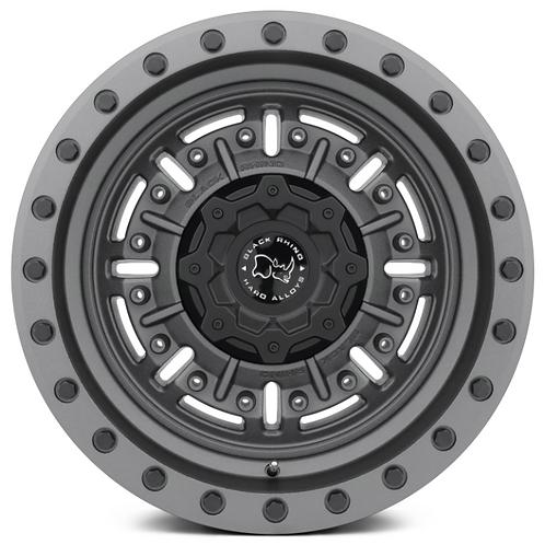 Black Rhino - Abrams - Textured Matte Gunmetal