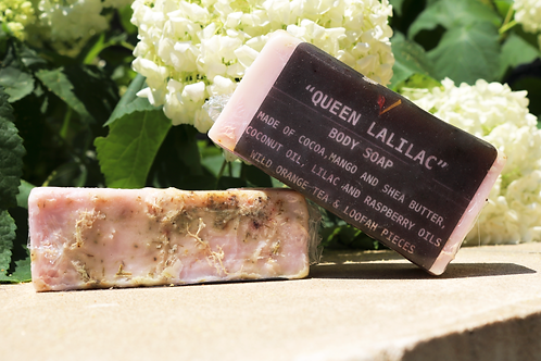 Queen LaLilac Body Soap