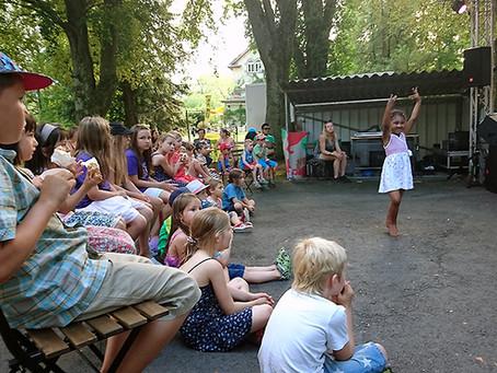 Ein Kinderkulturfestival auf Eigeninitiative