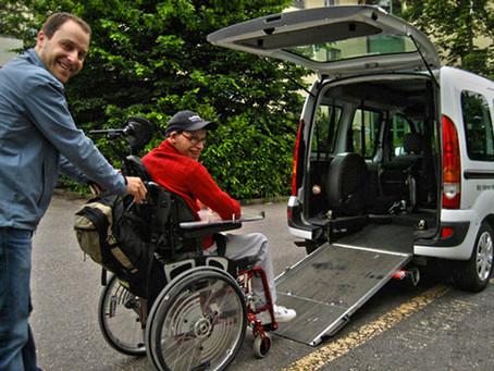 Unterstützung fürs Rollstuhltaxi