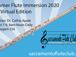 Summer Flute Immersion 2020: The Virtual Edition