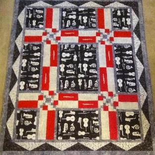 Handmade Quilt by Penny Gustafson