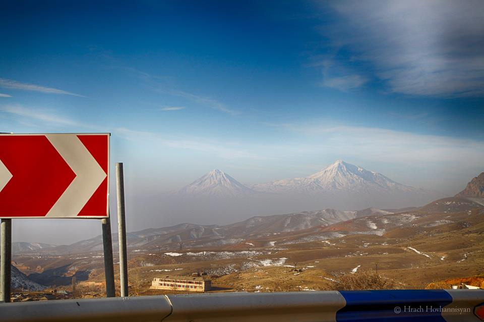 Mount Ararat from the road