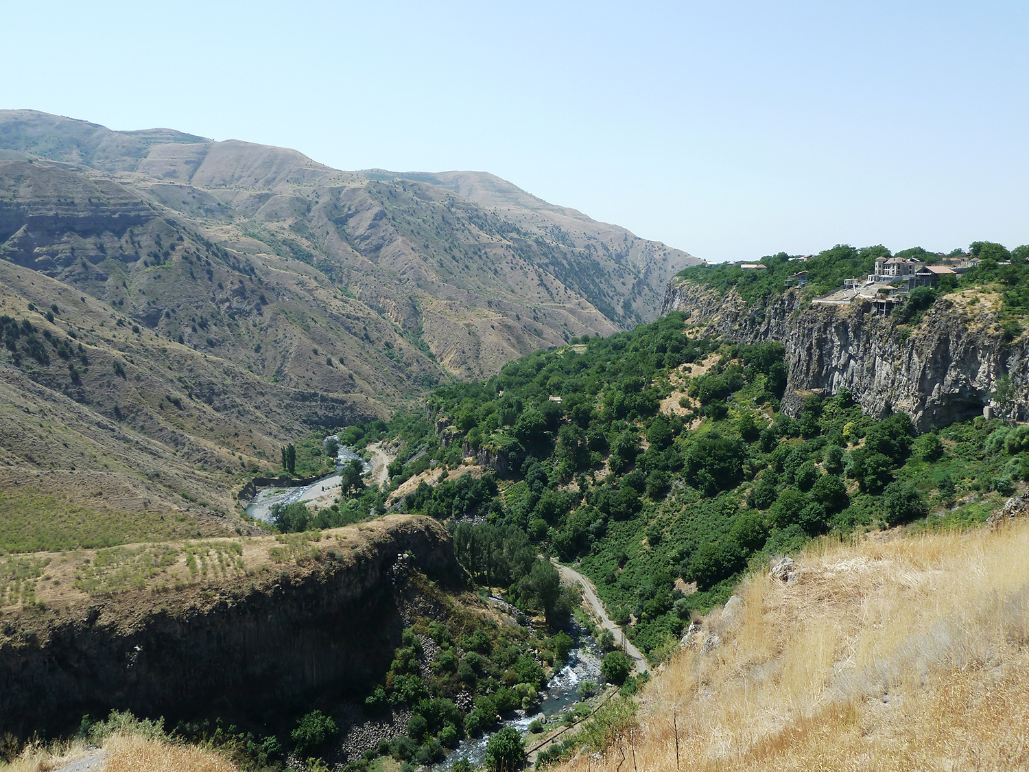 A view from Garni Temple