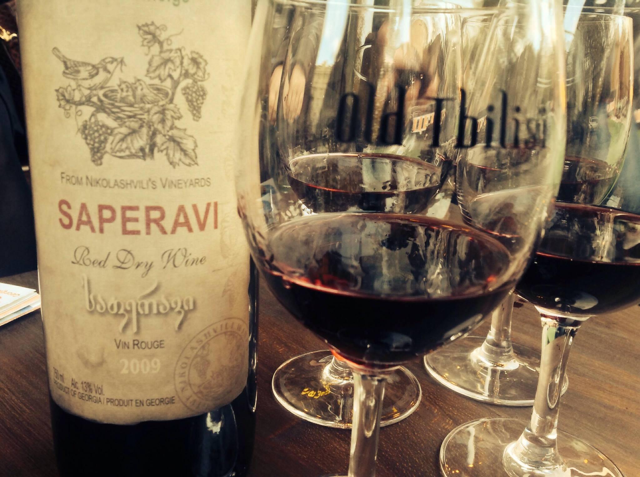 Дегустация вин, Тбилиси
