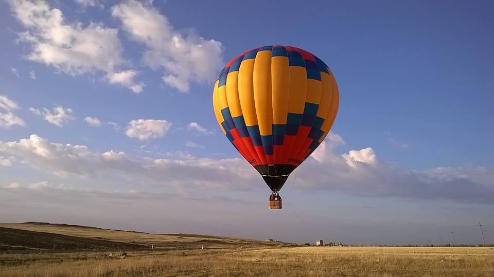 Полет на воздушном шаре в Армении