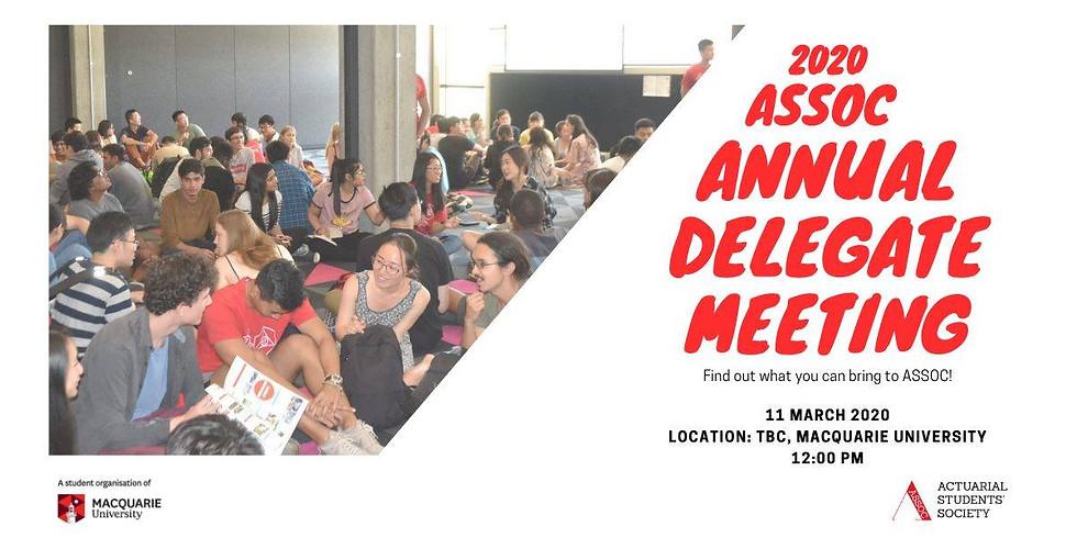 Annual Delegate Meeting