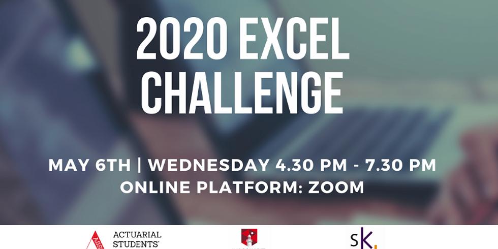 2020 Excel Challenge