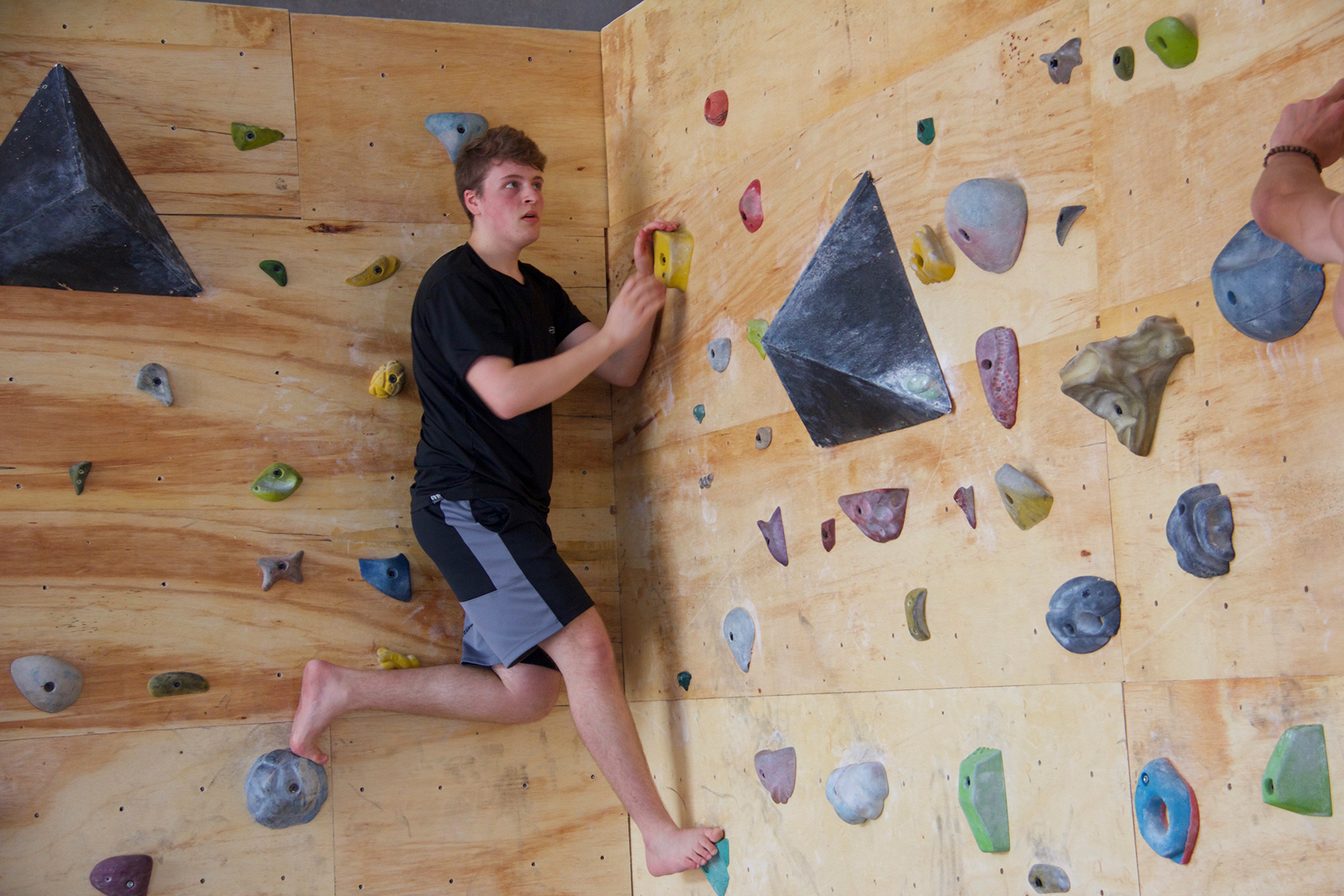 Diedro - muro vertical