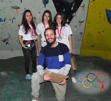 Pódio atletas feminino juvenil