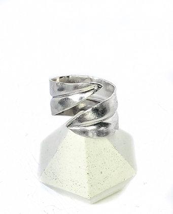 Silver Olive Leaf Ring