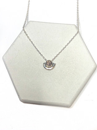 Mini Amulet Solitaire Necklace