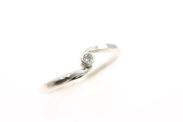 """Tide"" Diamond Ring"