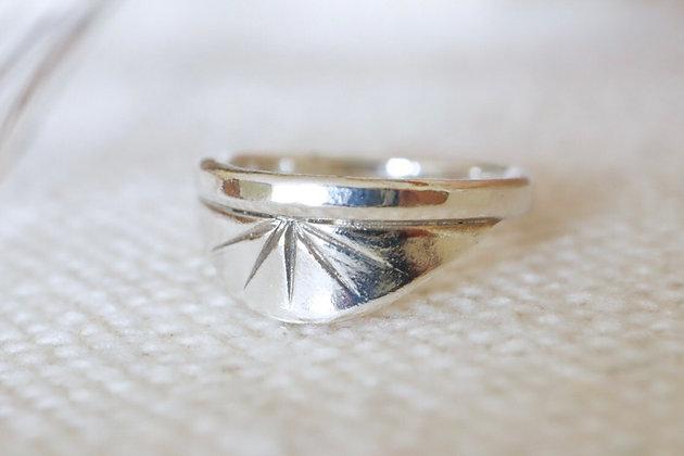 Sunrise Silver Ring