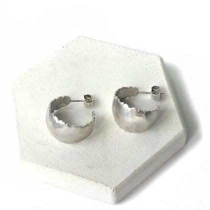 Organic Hoop Earrings