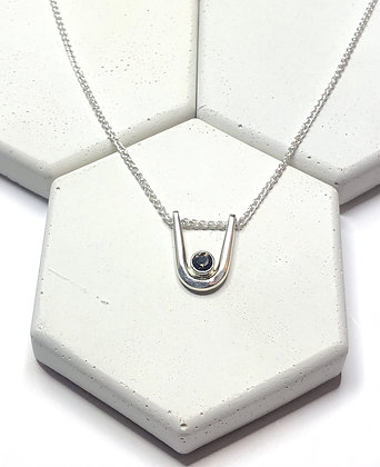 Sterling Silver Amulet Necklace