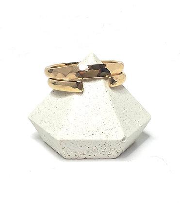 14k gold Stacking Ring Set