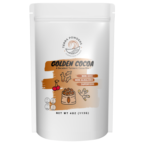 Buy Golden Cocoa Hot Turmeric Chocolate Drink Mix