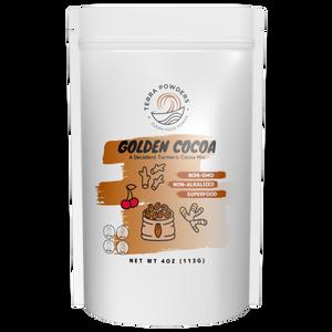 Buy Golden Cocoa Hot Turmeric Chocolate Drink Mix