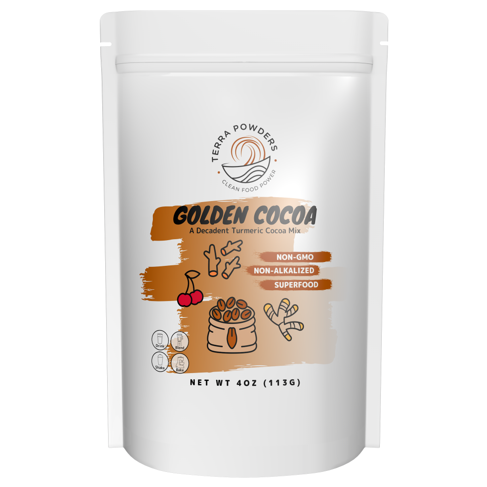 Golden Cocoa by Terra Powders