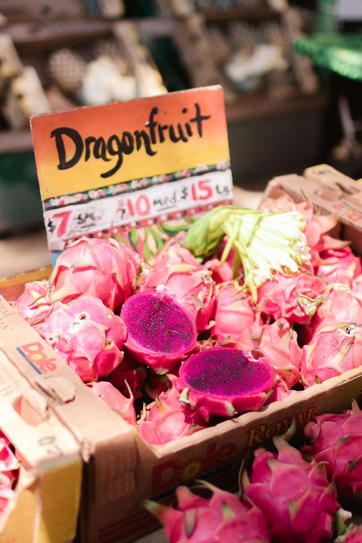 Fresh Pink Pitaya or Dragon Fruit For Sale