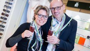 Succesvol ondernemerspaar; Villa Optica