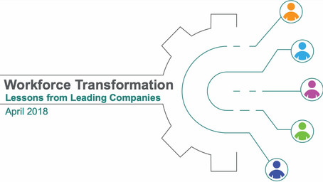 Workforce Transformation - Lessons from Leading Companies