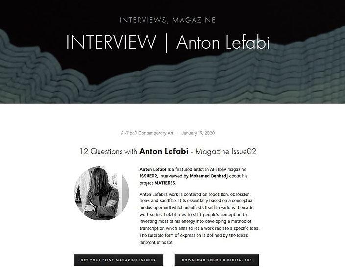 Al-Tiba_Interview