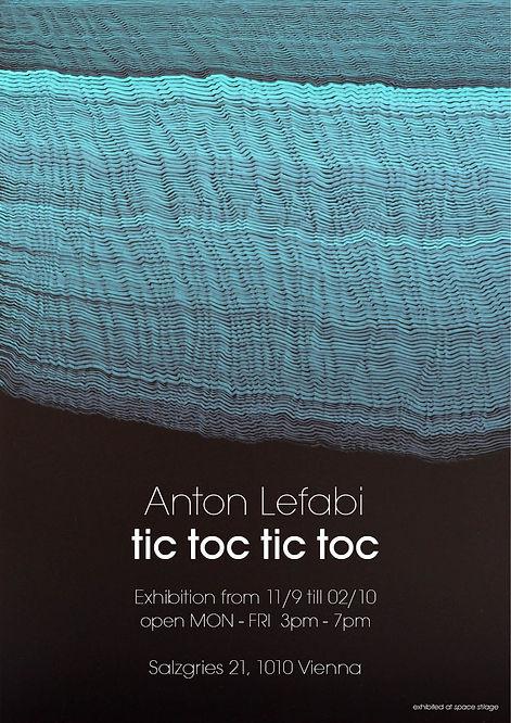 Anton Lefabi, tic toc tic toc, Poster fo