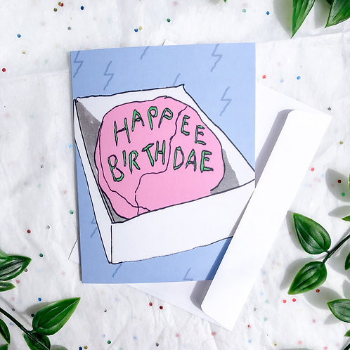 Happee Birthdae | Harry Potter Birthday Card