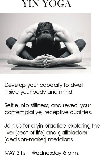 YIN YOGA with Barbara
