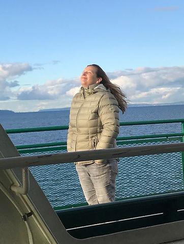 Koopvis op een boot in Seattle