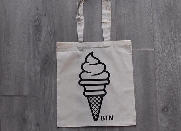 BTN Ice Cream Tote Bag