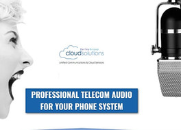 Professional Telecom Audio for your Phone System