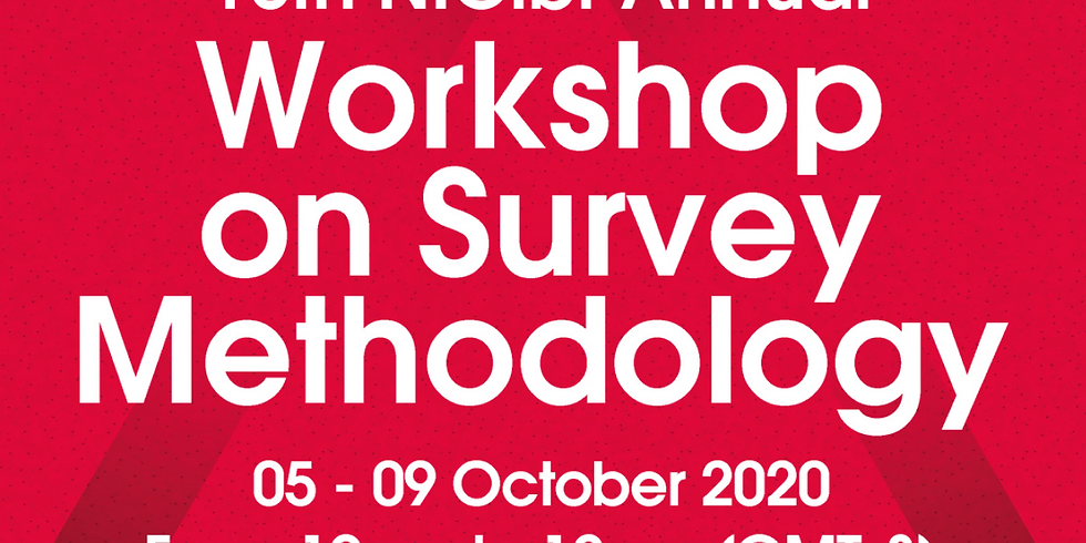 Workshop on survey methodology: Webinar I: A Humanistic and Ethical Approach to AI