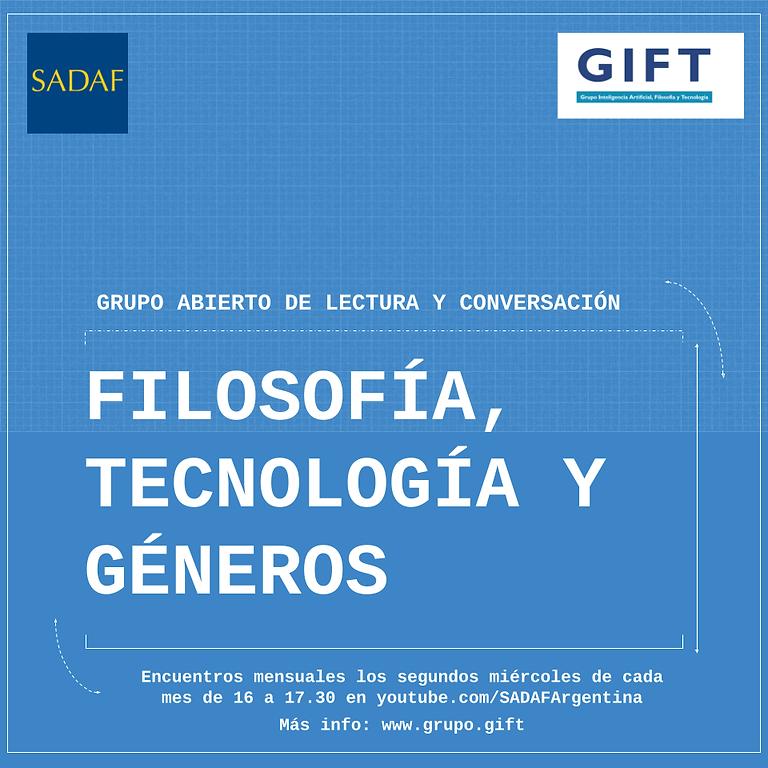 Filosofía, tecnología y géneros: Encuentro mayo