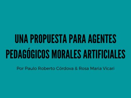 Una Propuesta para Agentes Pedagógicos Morales Artificiales